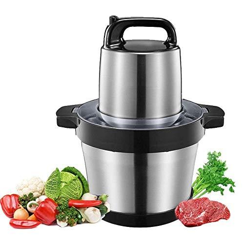 Picadora de Carne para Carne, Verduras, Frutas Procesador de alimentos eléctrico multifuncional,...