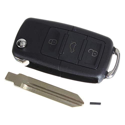 Zimaes Perfectamente 4 Botones Flip Doble Keyless Clave eliminado for Ford for Lincoln for Mercurio Mecánico