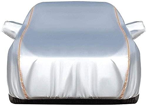 YSTC Telo Copriauto Felpato Personalizzato per Opel Mokka/Mokka-e, Garage Anti UV Antigrandine Imbottito Impermeabile e Traspirante, Telone Completo Universale Automobile da Esterno