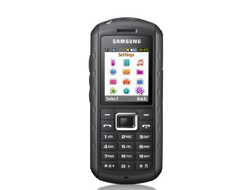 Samsung B2100 Outdoor Handy (1,3 MP-Kamera, MP3, IP57-Zertifizierung, wasserdicht) modern-black