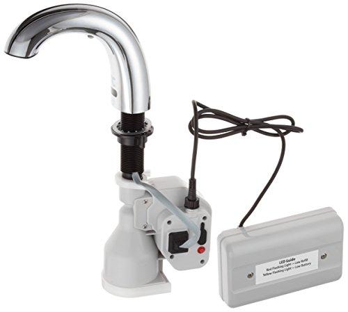 Rubbermaid Commercial One-shot Foam Soap Dispenser, Low Profile Metal, Polished Chrome (FG4870465)