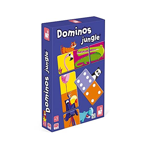 Janod Domino de la Selva (j02771), Multicolor (Juratoys