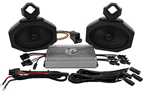 "Metrix Audio UTV1 Kit Complete 150 Watt Universal UTV Audio Kit With Bluetooth Receiver, 150 Watt Amplifier and 5"" x7"" UTV Speaker Pods UTV-1"