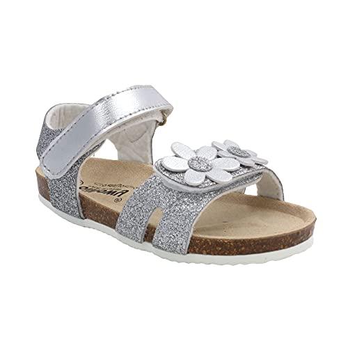 Billowy - Sandalen für Mädchen - A-7013C01, Silber - silber - Größe: 24 EU