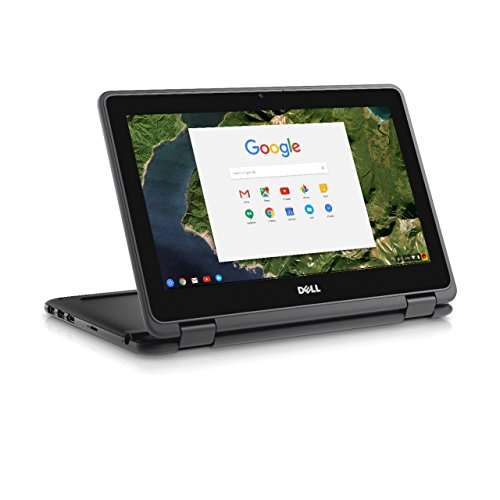 Dell Chromebook 11 3180 DP1T3 11.6-Inch Traditional Laptop (Black)