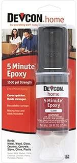 ITW Devcon S208 5-Min Epoxy Glue Syringe, 1-Ounce Tube