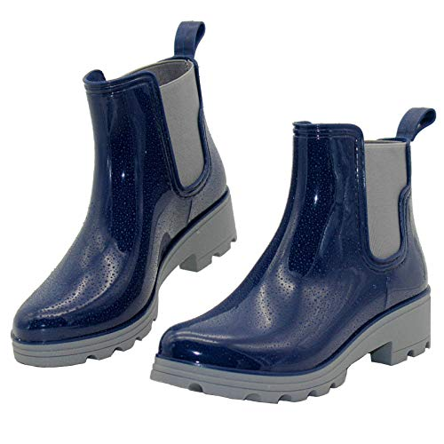 (40% OFF) Ladies Ankle Rain Boots $15.59 Deal