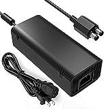 JHZL AC Adapter Power Supply Brick for Xbox 360 Slim - Auto Voltage 100-240V 2A 47-63Hz