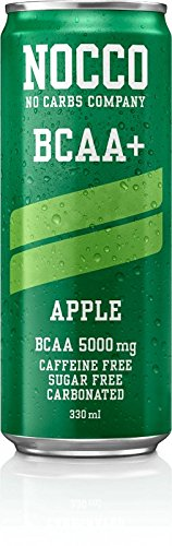 NOCCO (No Carbs Company) BCAA (Caffeine Free) - Apple (12)