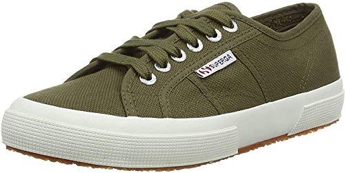 Superga 2750-cotu Classic, Zapatillas de Estar por casa Hombre, Verde (Military Green 595), 47 EU