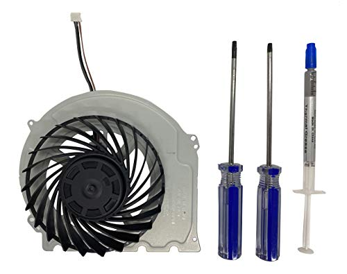 Bonier Replacement Internal Cooling Fan for Playstation 4 PS4 Slim CUH-2015A CUH-2016A CUH-2017A CUH-20xx CUH-21xx CUH-22xx Models