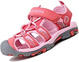 Verano Sandalias para Niñas Casual Sandalias de Zapatillas de Trekking y Senderismo Antideslizantes Sandalias de Playa Rosa Gr.25
