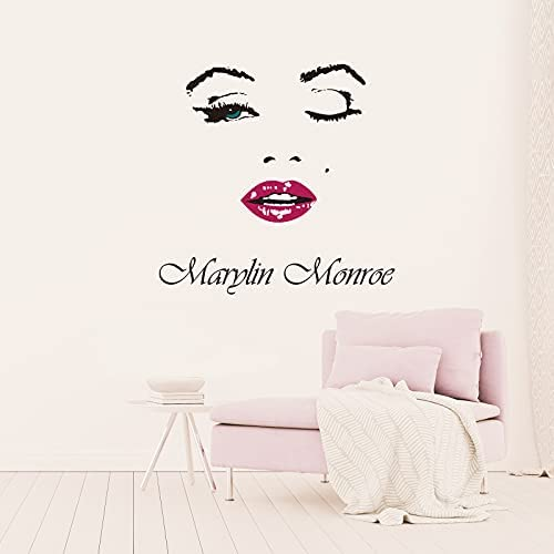 Marilyn monroe wall decal _image1