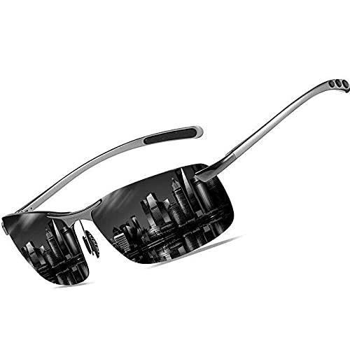 Varitystore Gafas De Sol Deportivas Protección Gafas De Ciclismo para Hombres Y Mujeres Montura Ultraligera Antideslumbrante Equitación Montañismo Pesca Golf