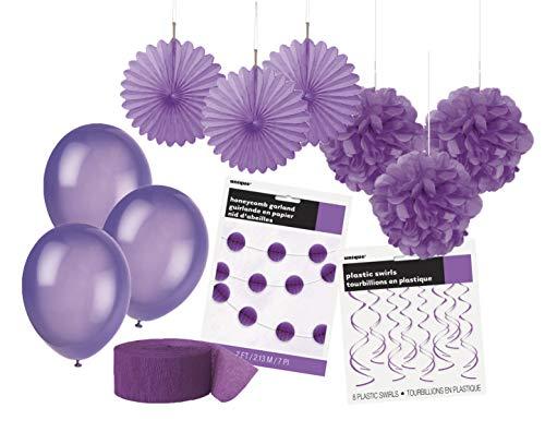 Unique Party 63848 - Kit de Décorations de Fêt...