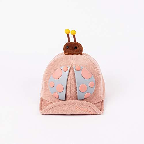 wopiaol Chapeau pour Enfants modèles d'automne et d'hiver Casquettes de bébé à Bords Doux en Coton Coccinelle Sept étoiles Chapeaux de bébé épaissis Chauds coréens