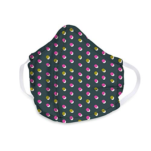 Vera Bradley Cotton Face Mask Falling Dots One Size