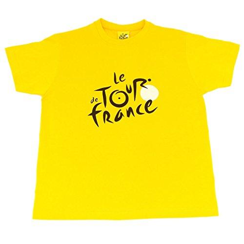 T-Shirt Tour de France Enfant Officiel - Jaune (6-8 Ans)