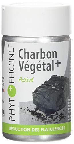Phytofficine Charbon Végétal+ 60 Gélules d'Origine Végétale