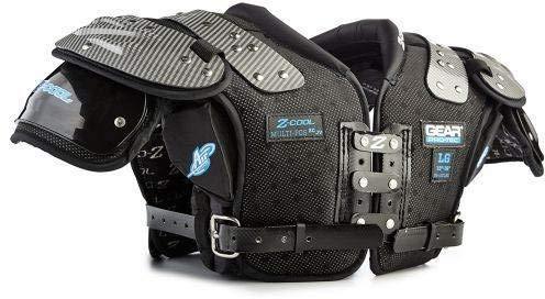 Gear Pro-Tec 1454462 JV Z-Cool 2.0 Youth Football Shoulder Pad44; 3XL