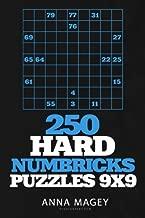 Dowload 250 Hard Numbricks puzzles 9x9 (Volume 4) 1979376360/ English PDF