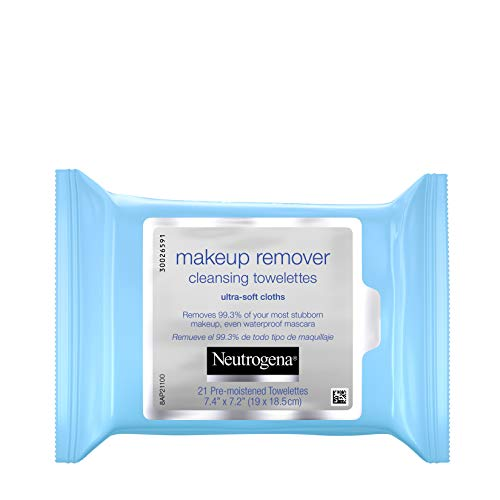 Neutrogena Makeup Remover Cleansing Facial Towelettes, Daily Gentle...