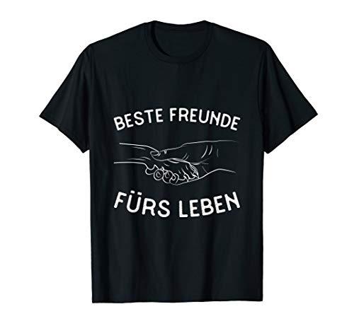 Bestefreunde fürs Leben - Hunde und Menschen Hundelbesitzer T-Shirt