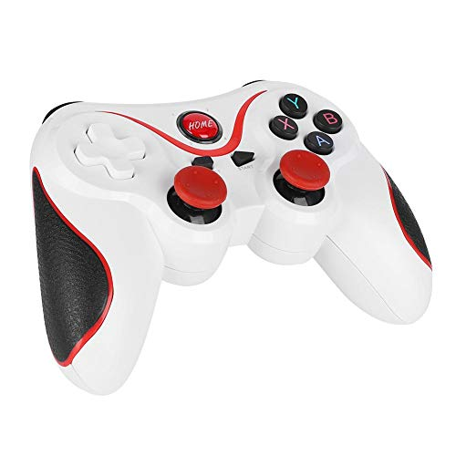 Game Controller, T3 Wireless Gamepad Bluetooth Game Handle para Andriod, iOS, Win 7/8/10, PS3 Compatible con PS3 Game Machine, Smartphones, Tablet PC, Smart TV, Set-Yop Boxes, PC