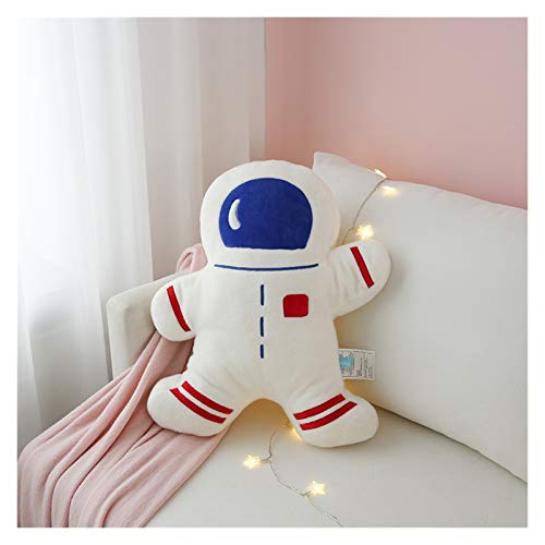 Juguete de peluche Espacio de dibujos animados astronauta astronauta nave espacial aeroplano peluche juguetes suave almohada relleno juguetes astronauta muñeca habitación decoración regalo para niños