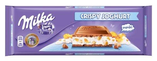 Milka Crispy Yogurt Alpine Chocolate Milk Indefinitely 300g Bar Seattle Mall