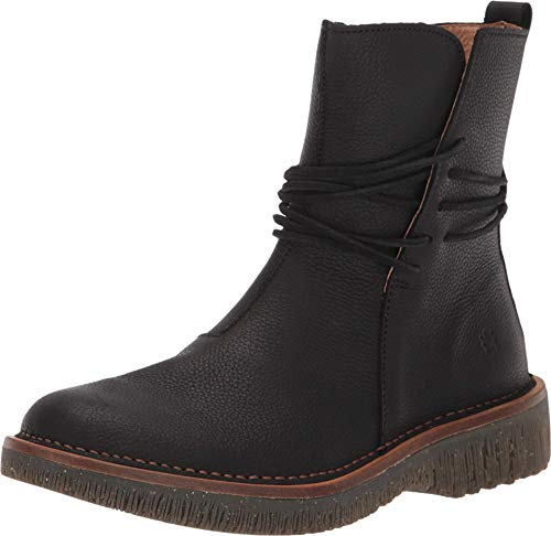 El Naturalista Volcano Ankle Boots, Schwarz