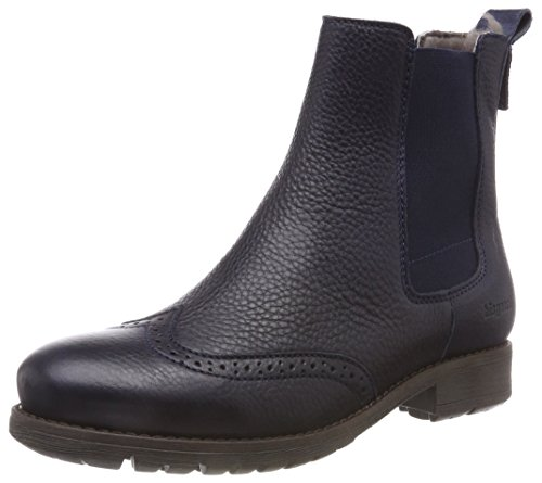 Bisgaard Mädchen 51003218 Chelsea Boots, Blau (608 Navy), 27 EU