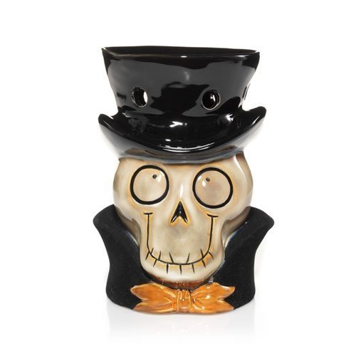 Yankee Candle Boney Bunch Head Wax Tarts Melts Warmer for Halloween