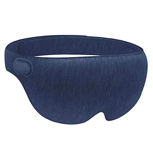 MHGLOVES Augenmaske Wärmend USB, Augenmaske Beheizte Schlafmaske Augenmaske, Elektrisch Beheizbare Maske Wärmende Augenmaske, Gegen Blepharitis, Gerstenkorn, Augenringe (69X7.8X4.5Cm),Blau