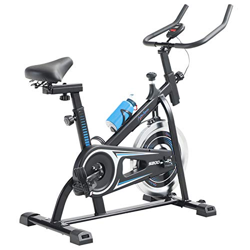 Alpha Sports Indoor Cycling Exercise Bike Stationary,All-inclusive Flywheel Bike for Home Cardio Workout with LCD Monitor, Tablet Holder, Adjustable Seat and Handlebar