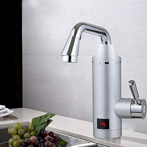 3000W elektrischer Durchlauferhitzer Küche und Bad Waschbecken Wasserhahn Wassertemperatur: 30-60 ° C.