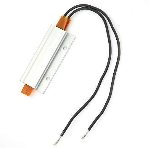 Placa calefactora termostática elemento calefactor PTC duradero para calefacción eléctrica para precalentamiento de componentes de coche(12V 200℃, Pisa Leaning Tower Type)