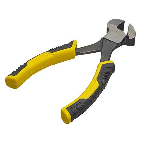 Stanley STHT0-75067 Alicate Control Grip Corte Frontal 150mm, Negro/Amarillo, Taglia Unica