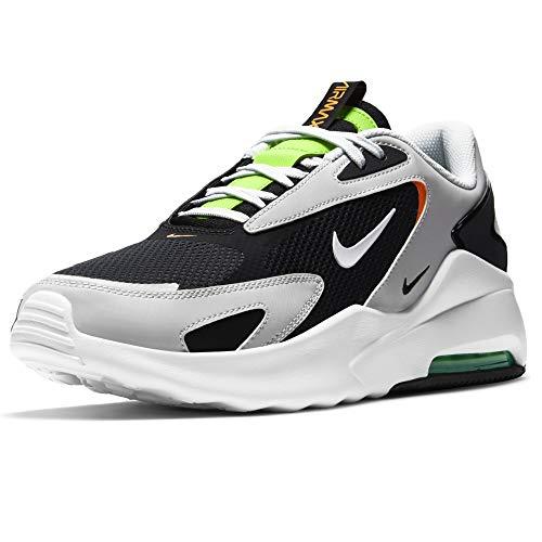 Nike Air Max Bolt, Scarpe da Corsa Uomo, Black/White-Photon Dust-Electric Green, 45 EU