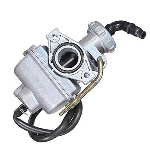 ZYYYWW Carburador, PZ20 20mm Carburetor de carburador de Motocicletas para 50 CC 70CC 90CC 110CC 125CC 135CC Alta dureza