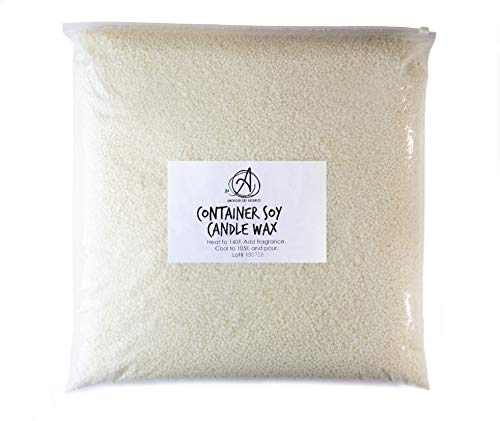 100% Midwest Soy Container Wax by American Soy Organics (5 Pound Bag)