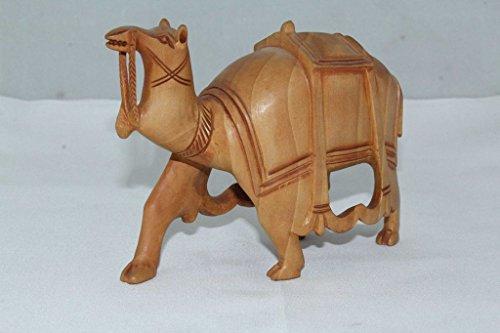 Rajasthan Camel Figurine animaux sauvages en bois bijoux artisanat inde cadeau décoratif de l'article