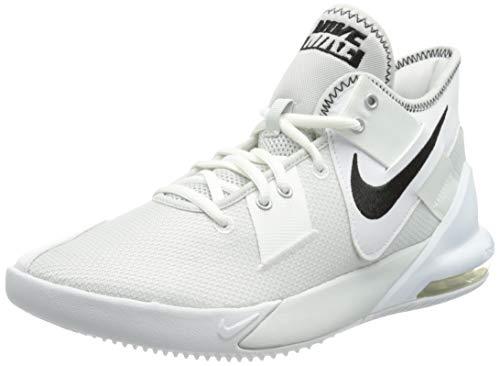 Nike Air MAX Impact 2, Zapatillas de bsquetbol Unisex Adulto, White Black Photon Dust, 46 EU