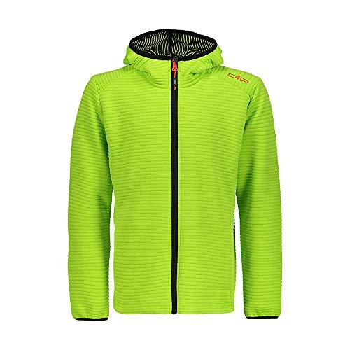 CMP Jungen Technical Jacquard Fleece Jacket Jacke, Energy, 140