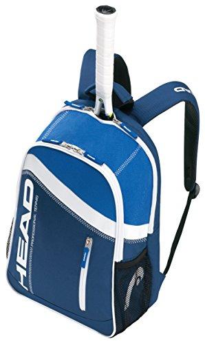 Capo borsa da tennis per adulti, Blu/Bianco, 77 x 40 x 34 cm, 104 litri, 283284-BLWH