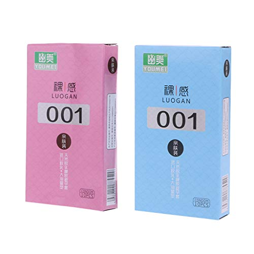 Lunji 10PCS Kondom für Erwachsene, ultradünnes 001 Kondom, super erotisches Big Oil Kondom