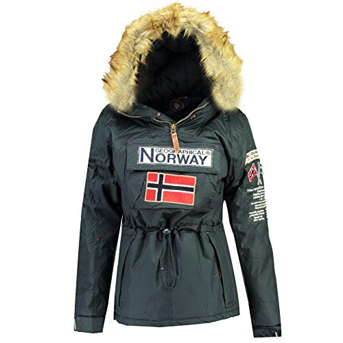 Geographical Norway Parka Mujer BOOMERA Ass B Azul Marino 01