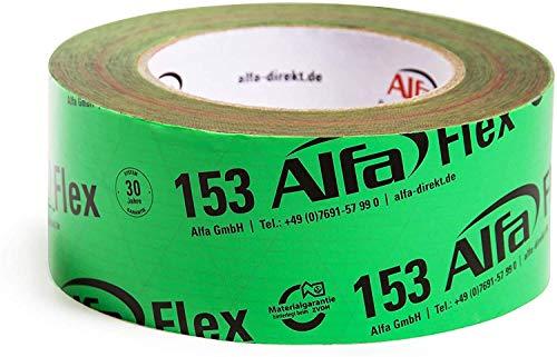 3x Flex Folienklebeband (50mm x 25m) Klebeband für Dampfbremsen, Dampfsperren und Dachfolien in grün…