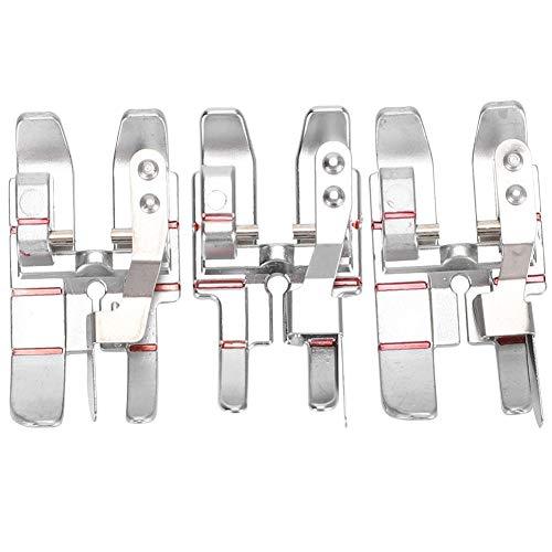 Prensatelas para máquina de coser, 3 piezas Pie de unión de 1/4 de pulgada para acolchado y pespunte de acolchado especial Especial para accesorios de máquina de coser multifunción doméstica PFAFF