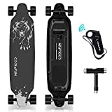 HOVERMAX Elektro Skateboard, 35,4x9 Zoll Elektrisches...